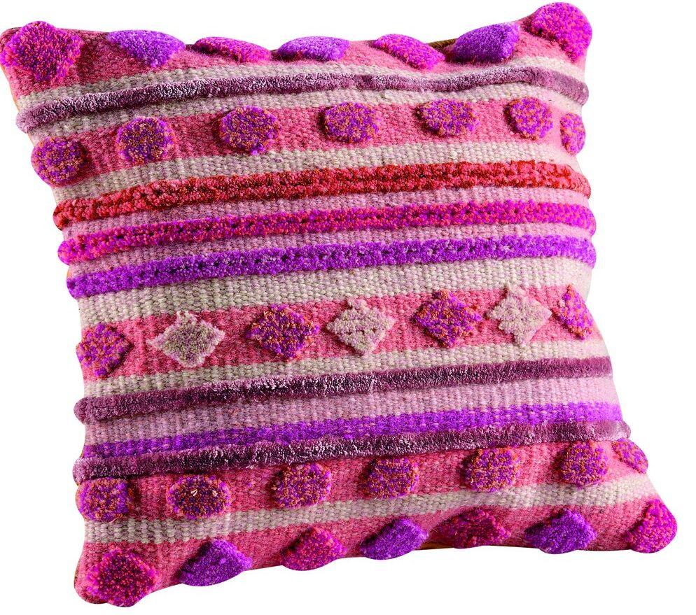 Elda Throw Pillow Size: 18