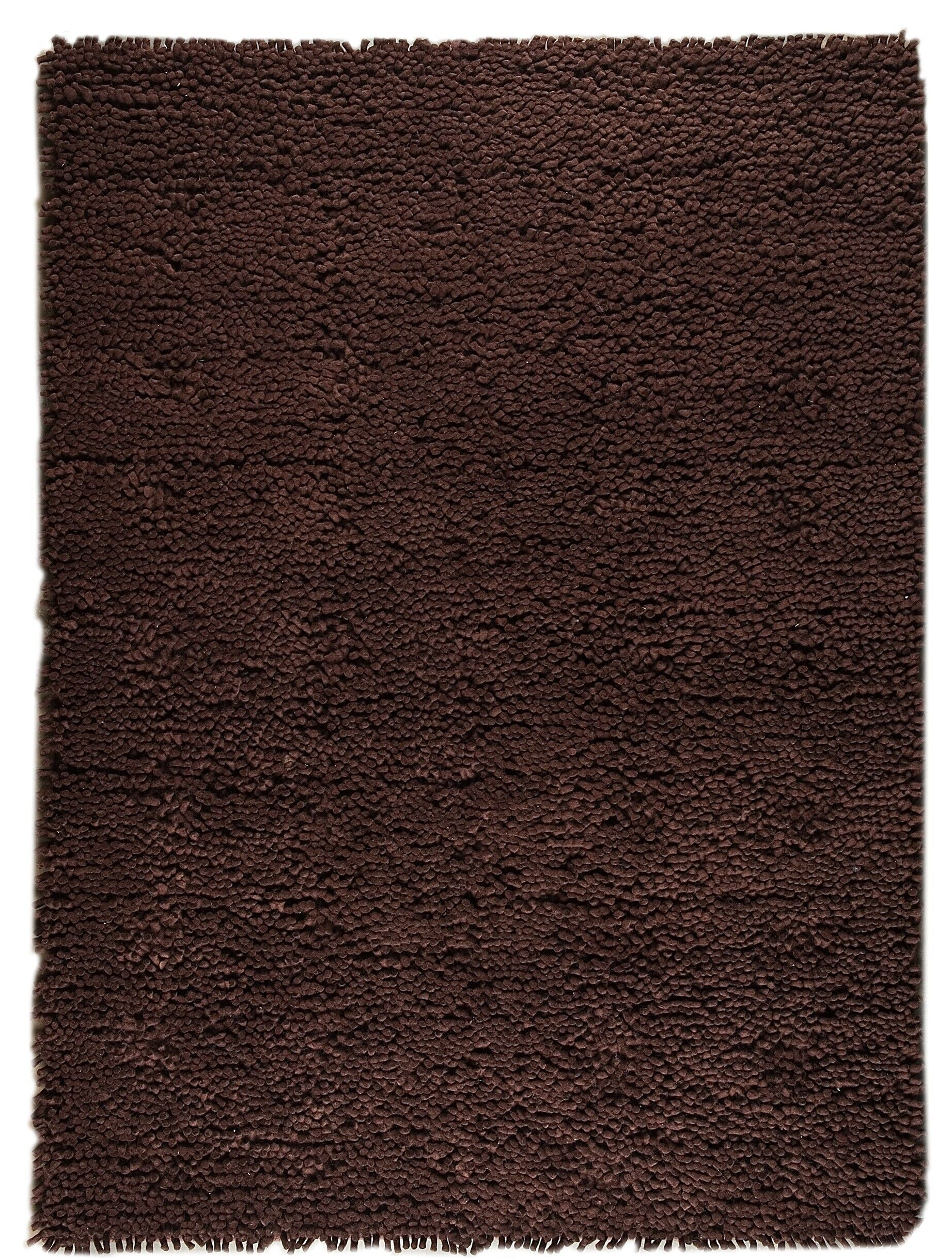 Harris Hand-Woven Brown Area Rug Rug Size: Rectangle 8'3