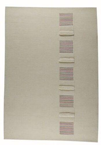 Gray Area Rug Rug Size: Rectangle 5'6