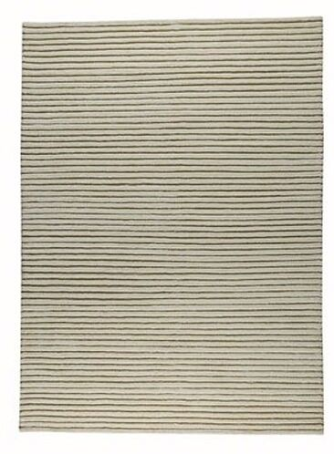 Harbour White Area Rug Rug Size: 5'6
