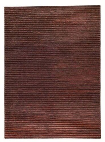 Division Brown Area Rug Rug Size: 4'6