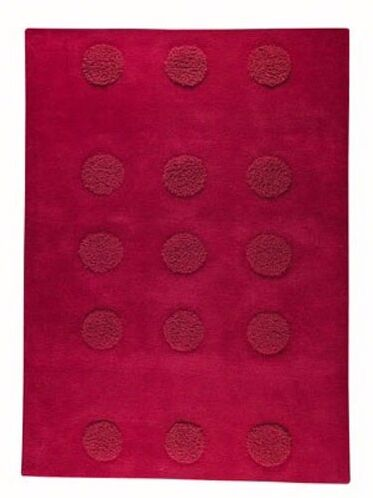 Winona Red Area Rug Rug Size: Rectangle 6'6