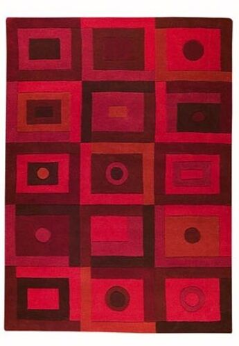 Bronwen Red Area Rug Rug Size: 9' x 12'