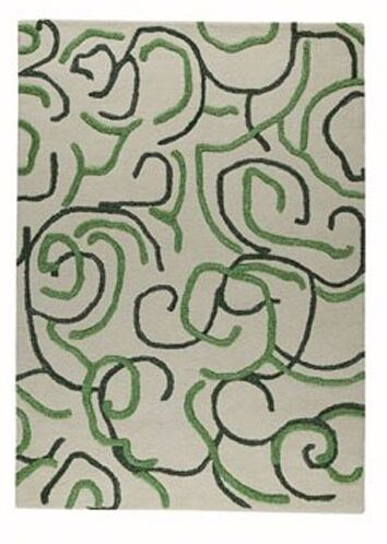 Eris Green Rug Rug Size: Rectangle 6'6