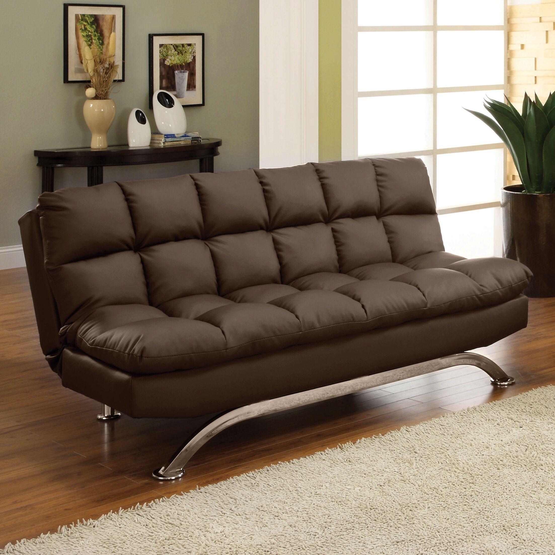 Pennock Sleeper Sofa Upholstery: Dark Espresso