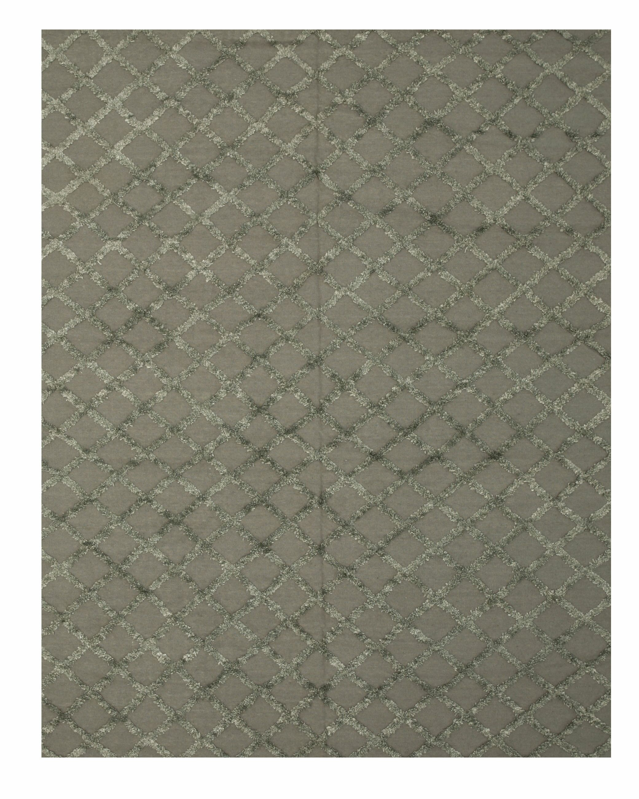 Marakesh Hand-Woven Charcoal Area Rug Rug Size: 10' x 14'