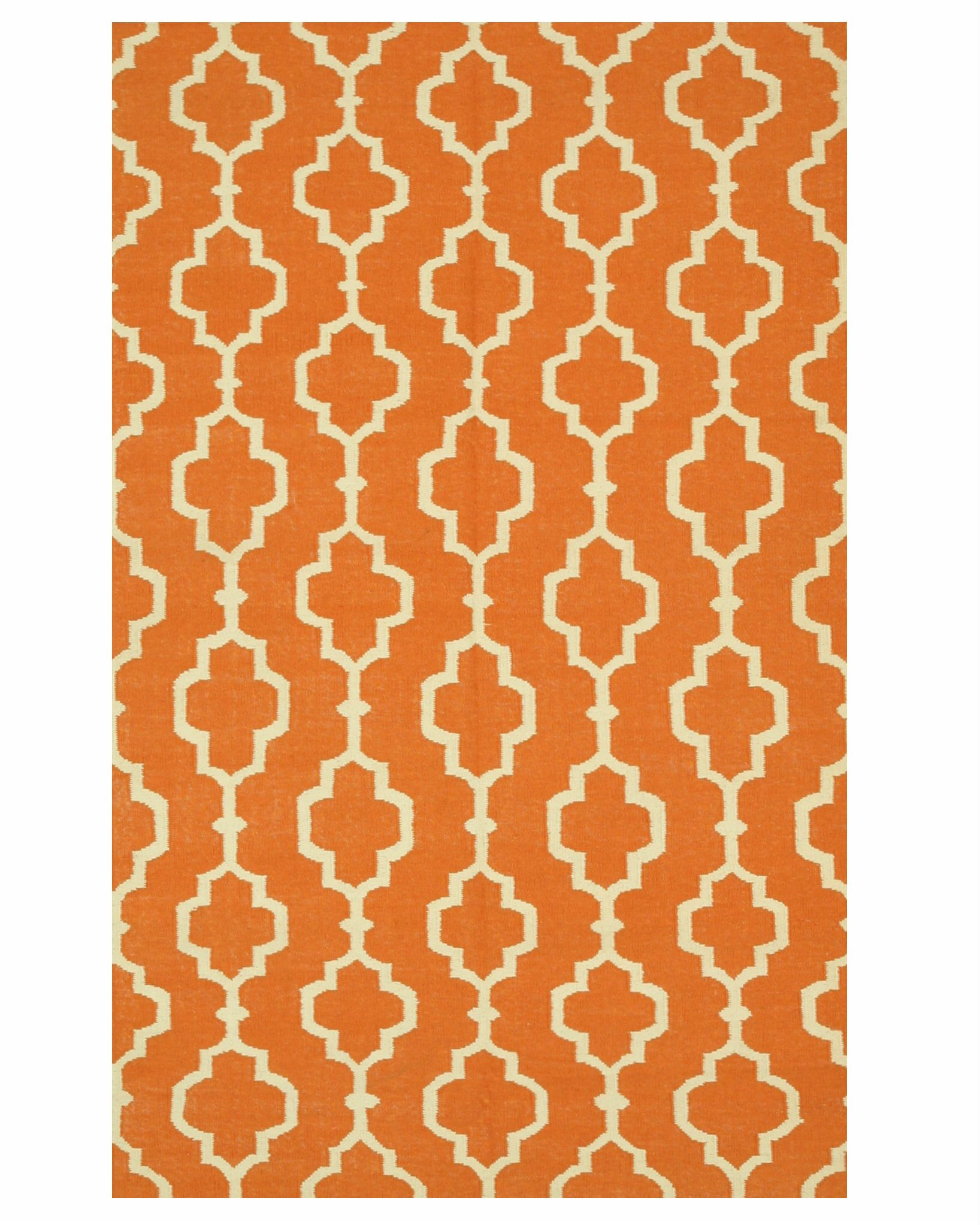 Morales Handmade Orange Area Rug Rug Size: 10' x 14'