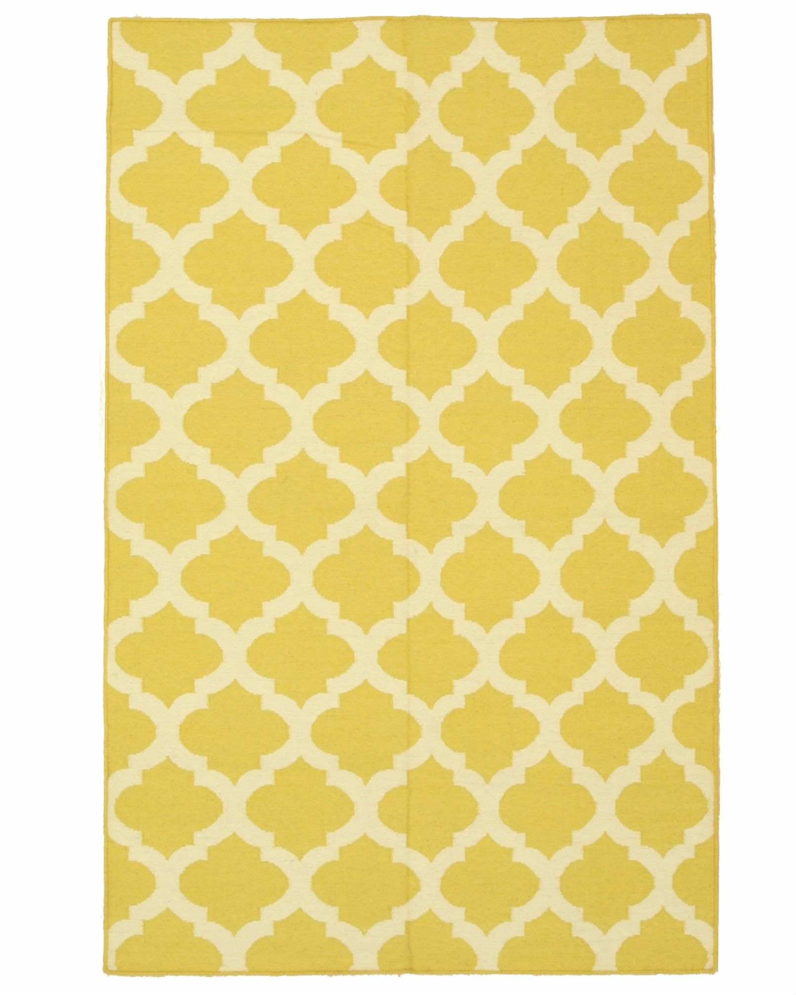 Durrant Handmade Yellow Area Rug Rug Size: 5' x 8'