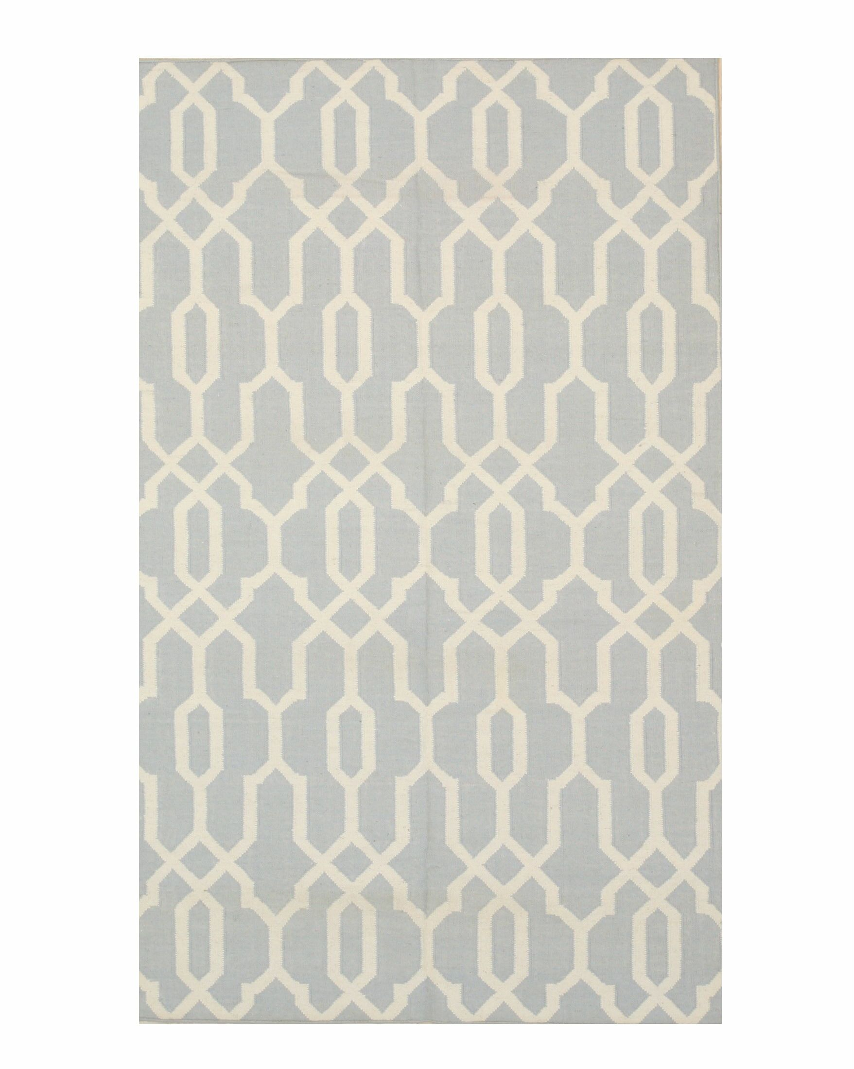 Durrant Handmade Gray Area Rug Rug Size: 8' x 10'