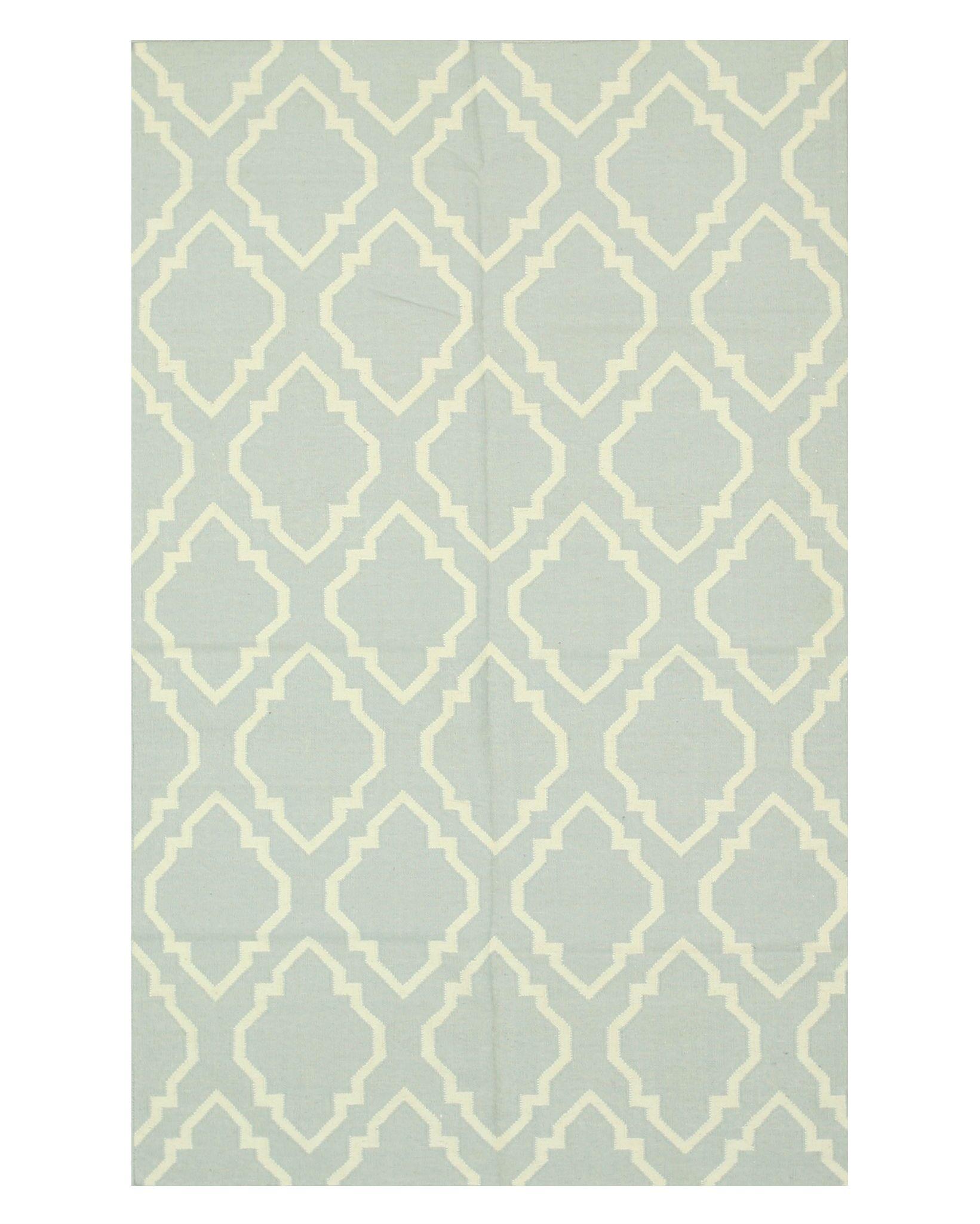 Durrant Handmade Gray Area Rug Rug Size: 5' x 8'