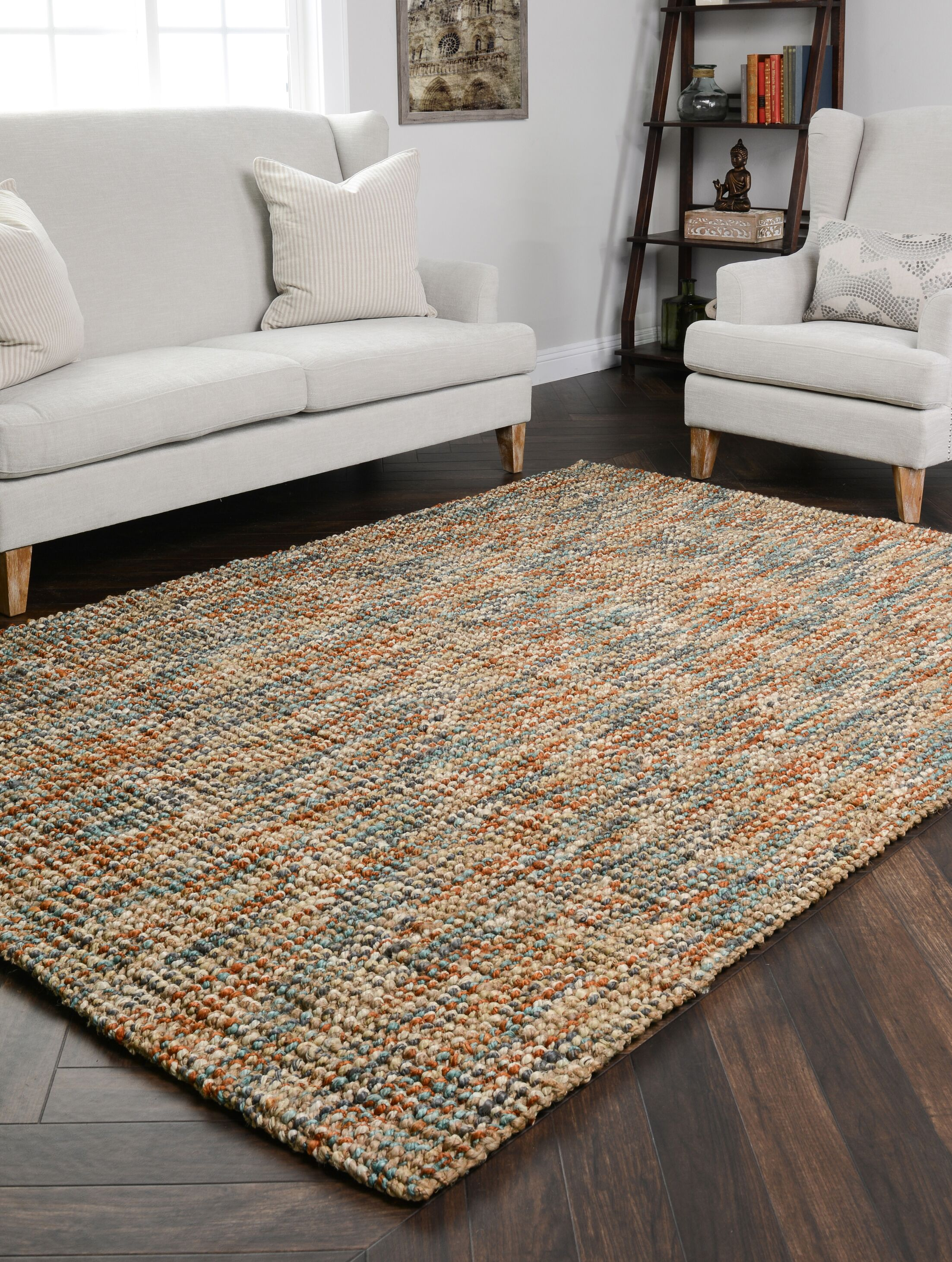 Anello Sunset Area Rug Rug Size: 2' x 3'