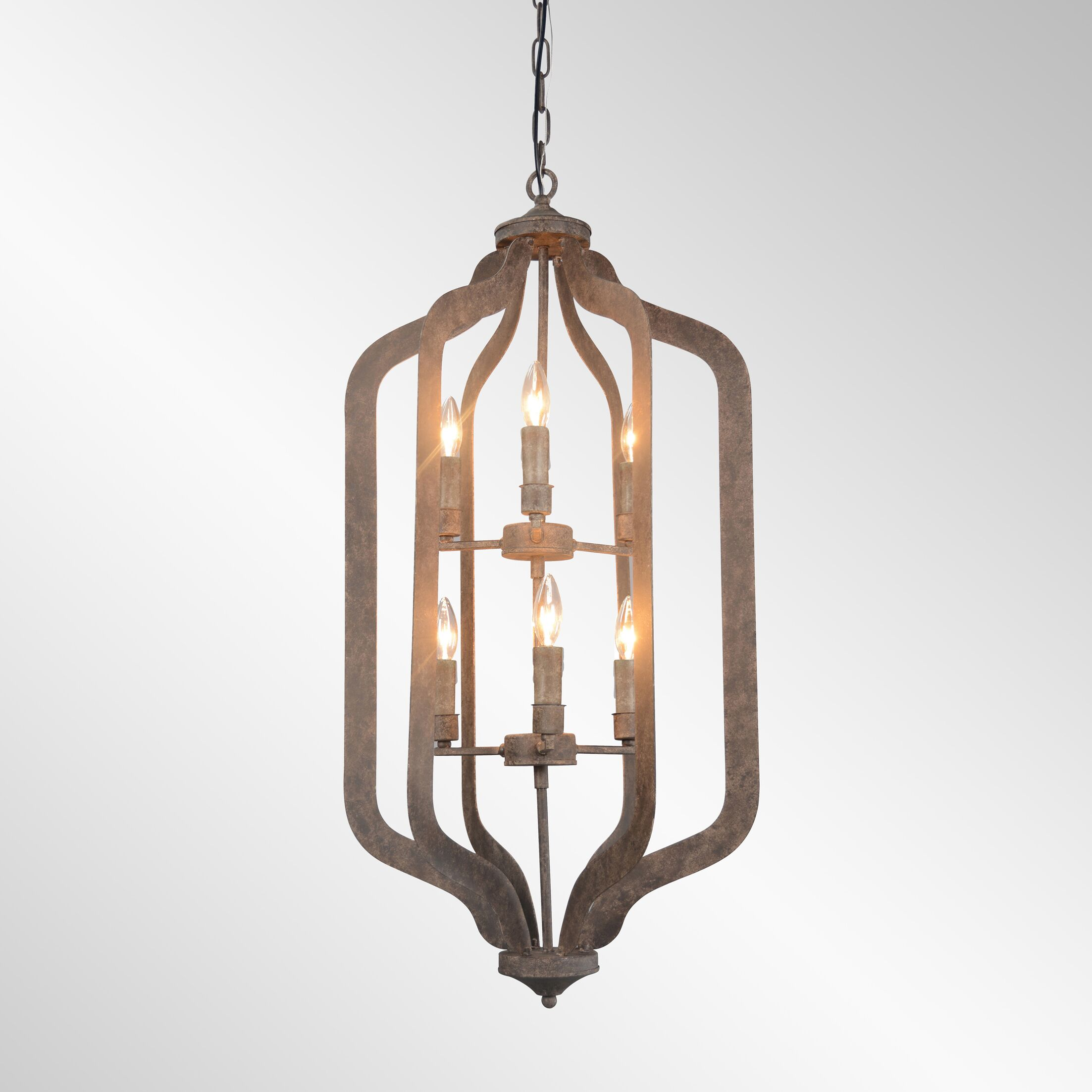 Gaertner 6-Light Lantern Pendant