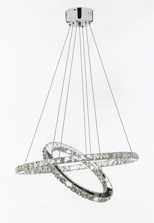 Howells 40-Light LED Crystal Chandelier
