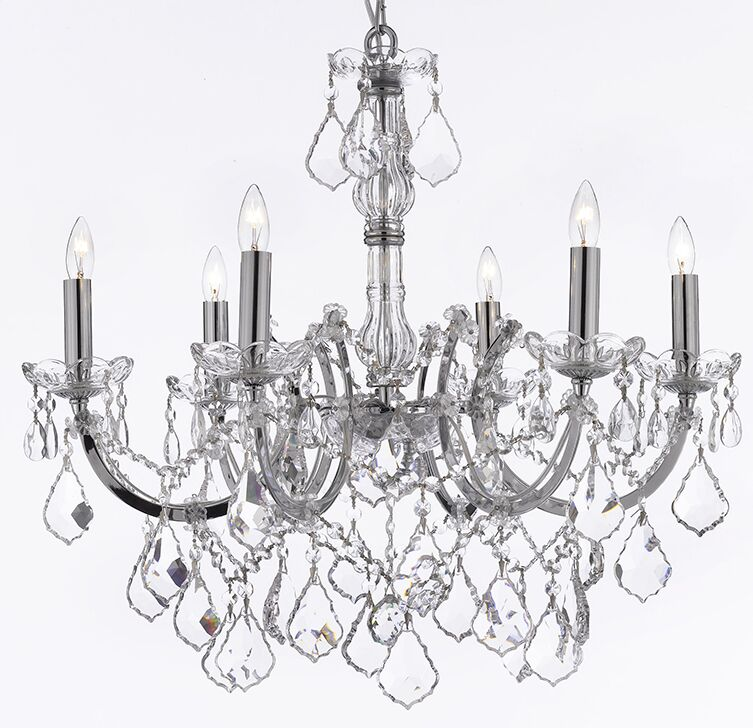 Keenum 6-Light Candle Style Chandelier