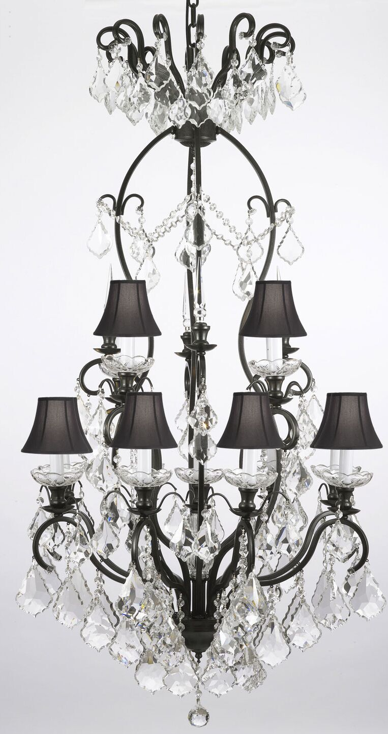 Clemence 13-Light Shaded Chandelier
