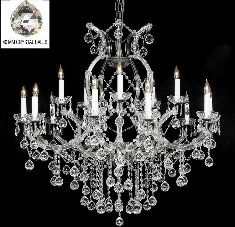 Alvarado 16-Light Silver Candle Style Chandelier
