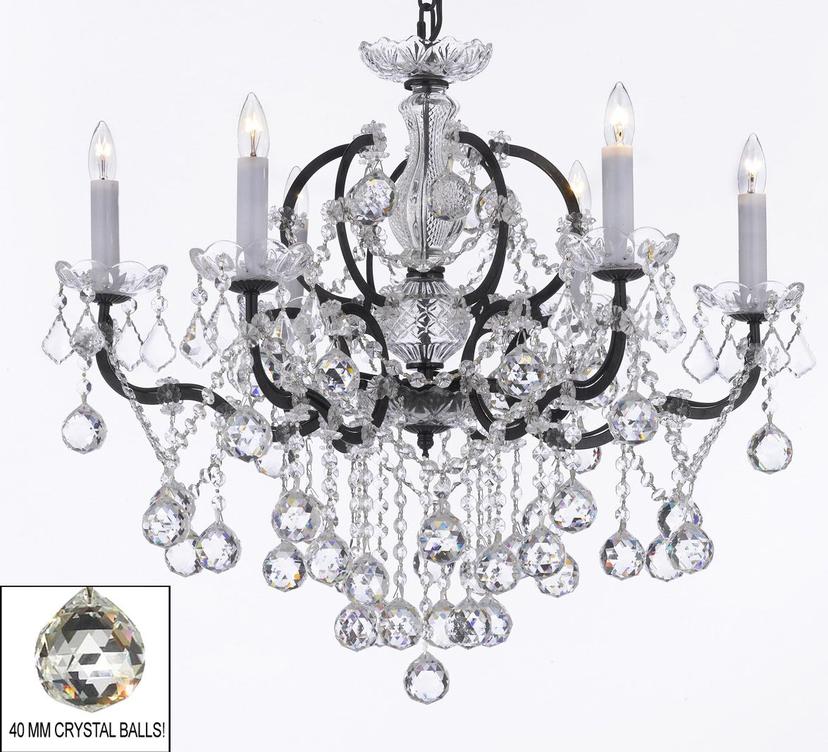 Clemence 6-Light Candle Style Chandelier