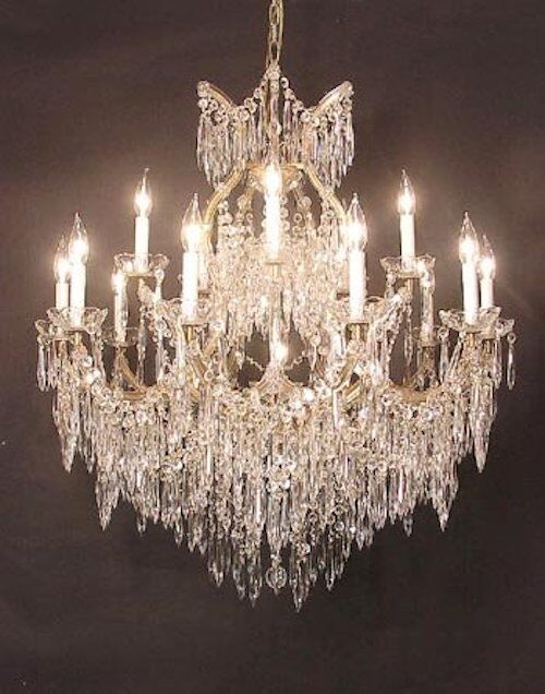 George 16-Light Candle Style Chandelier