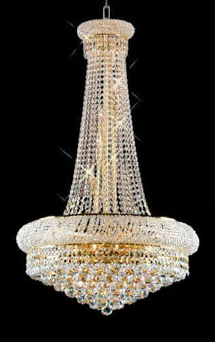 Stanton Trimmed French 15-Light Empire Chandelier