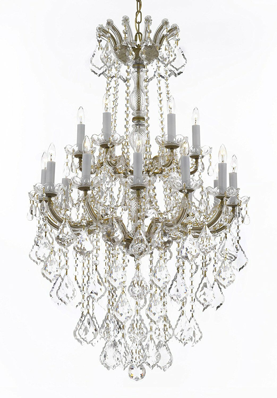 Alvarado 18-Light Empress Candle Style Chandelier Color: Gold