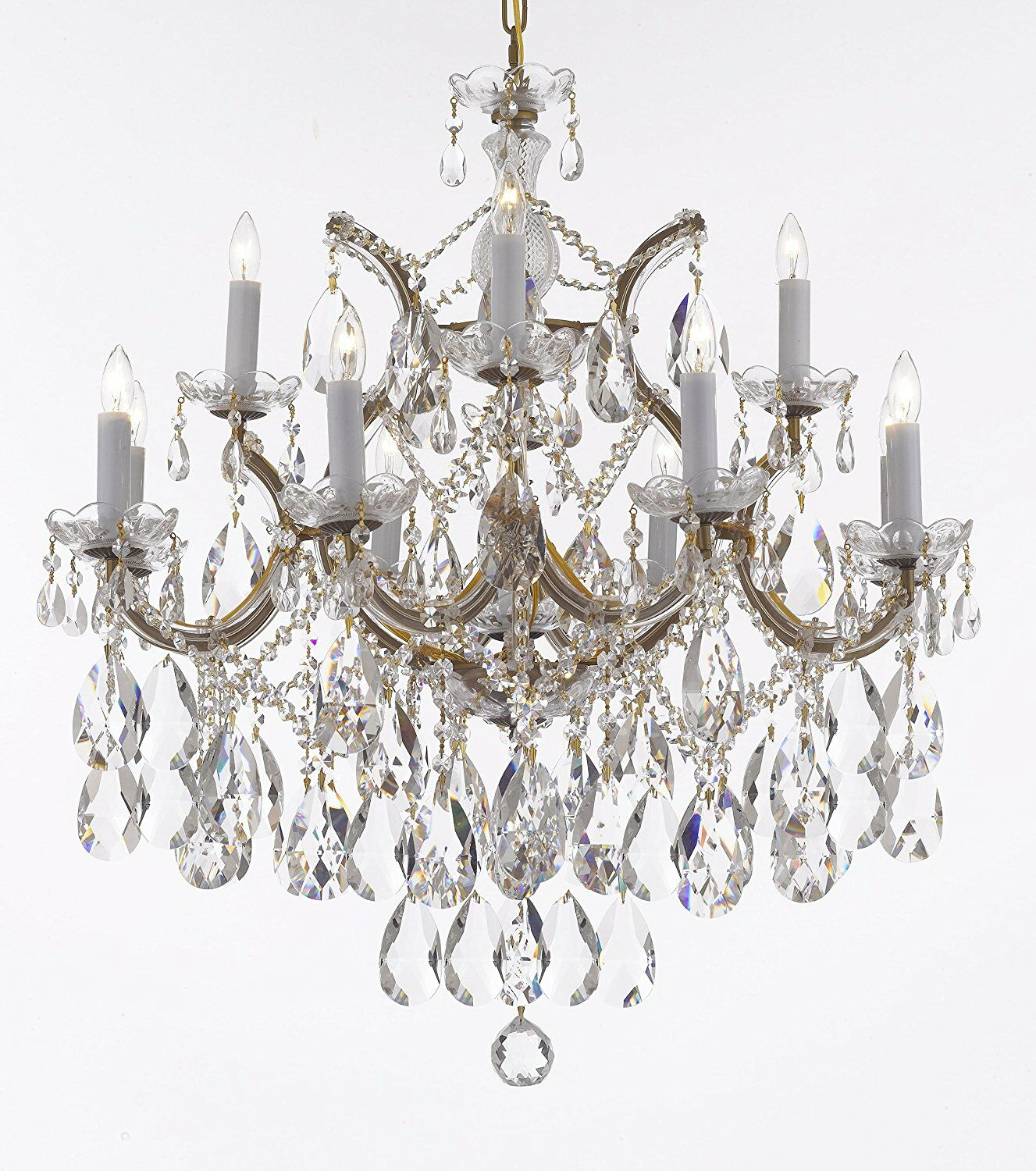 Carswell 13-Light Chandelier Color: Gold