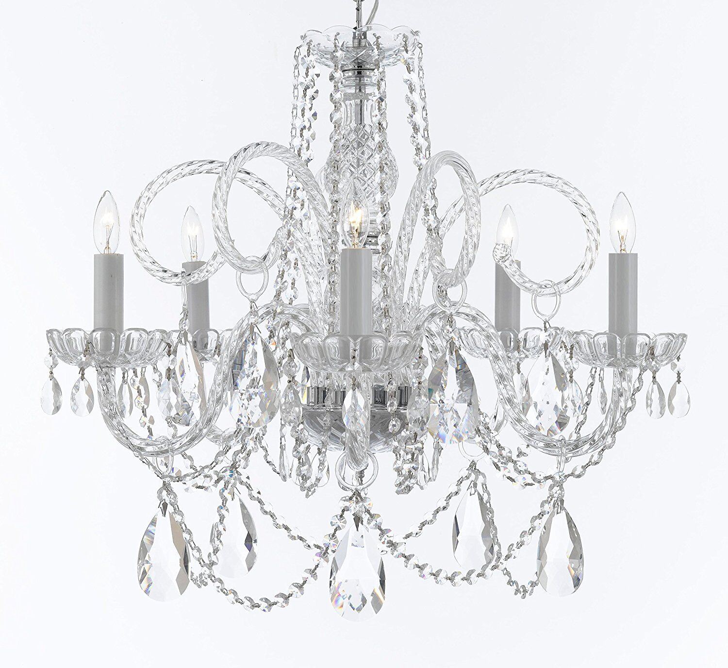 Crawley 5-Light Candle Style Chandelier