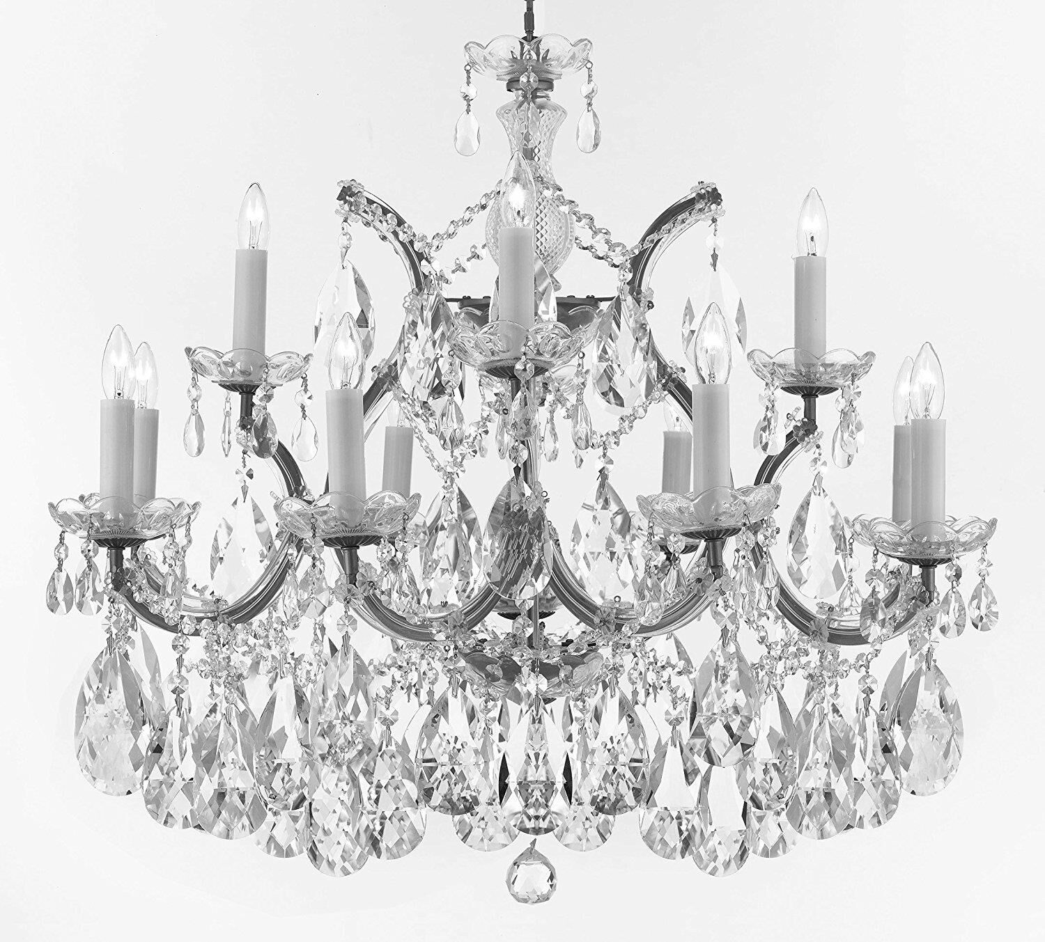 Bellefonte Glam 13-Light Candle Style Chandelier Color: Silver