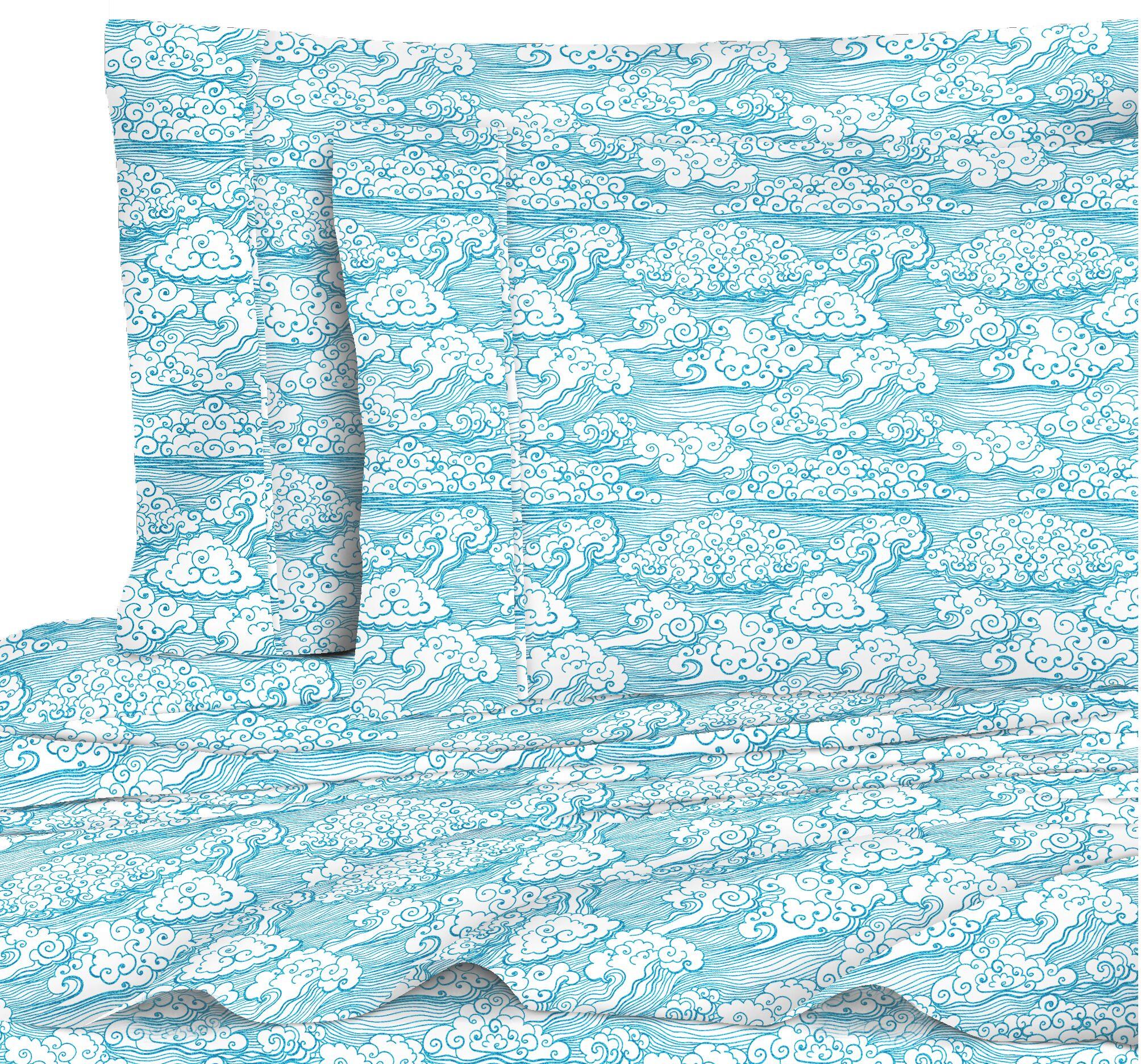 Cloud 400 Thread Count 100% Cotton Sheet Set Size: Queen