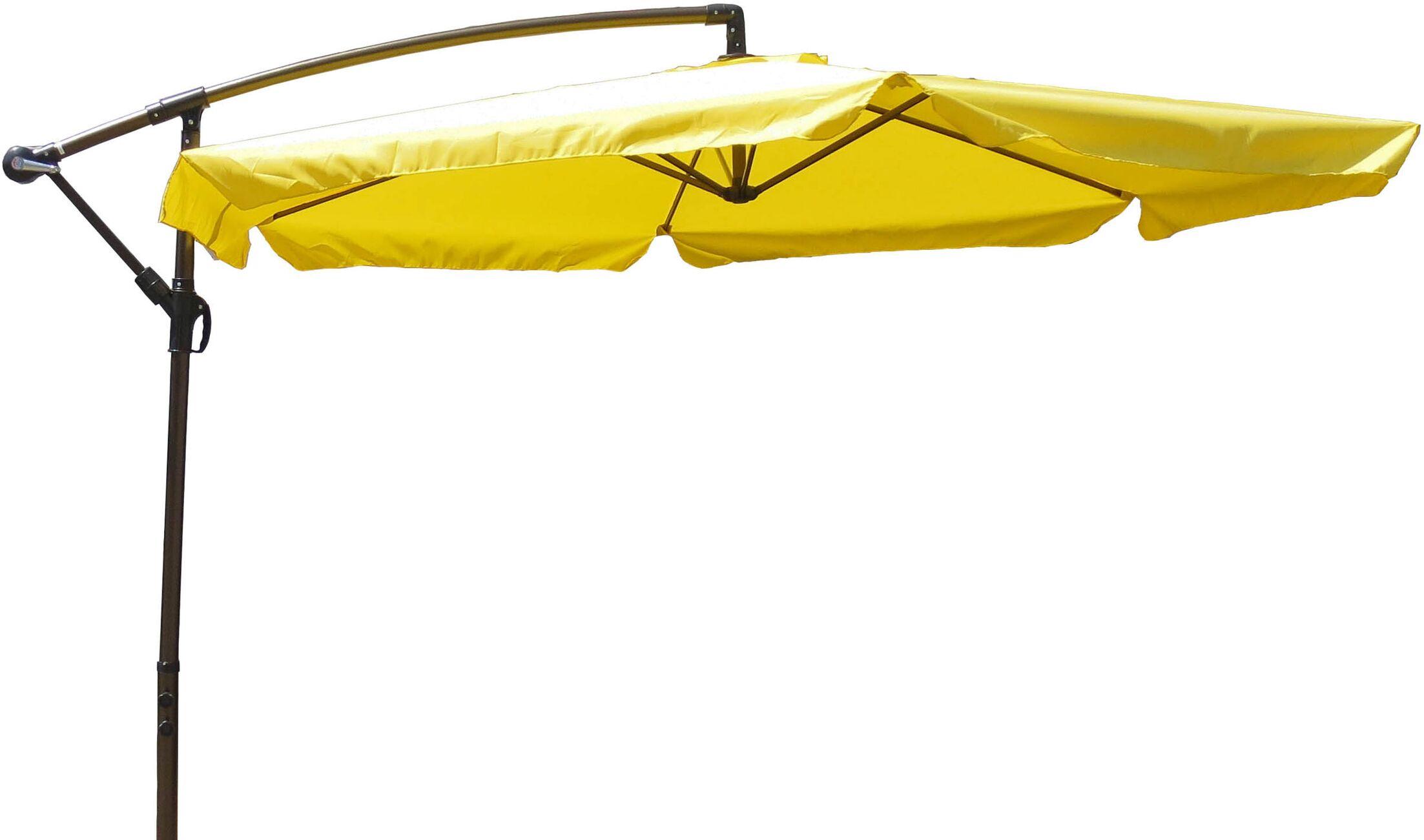 10' Cantilever Umbrella Fabric: Yellow