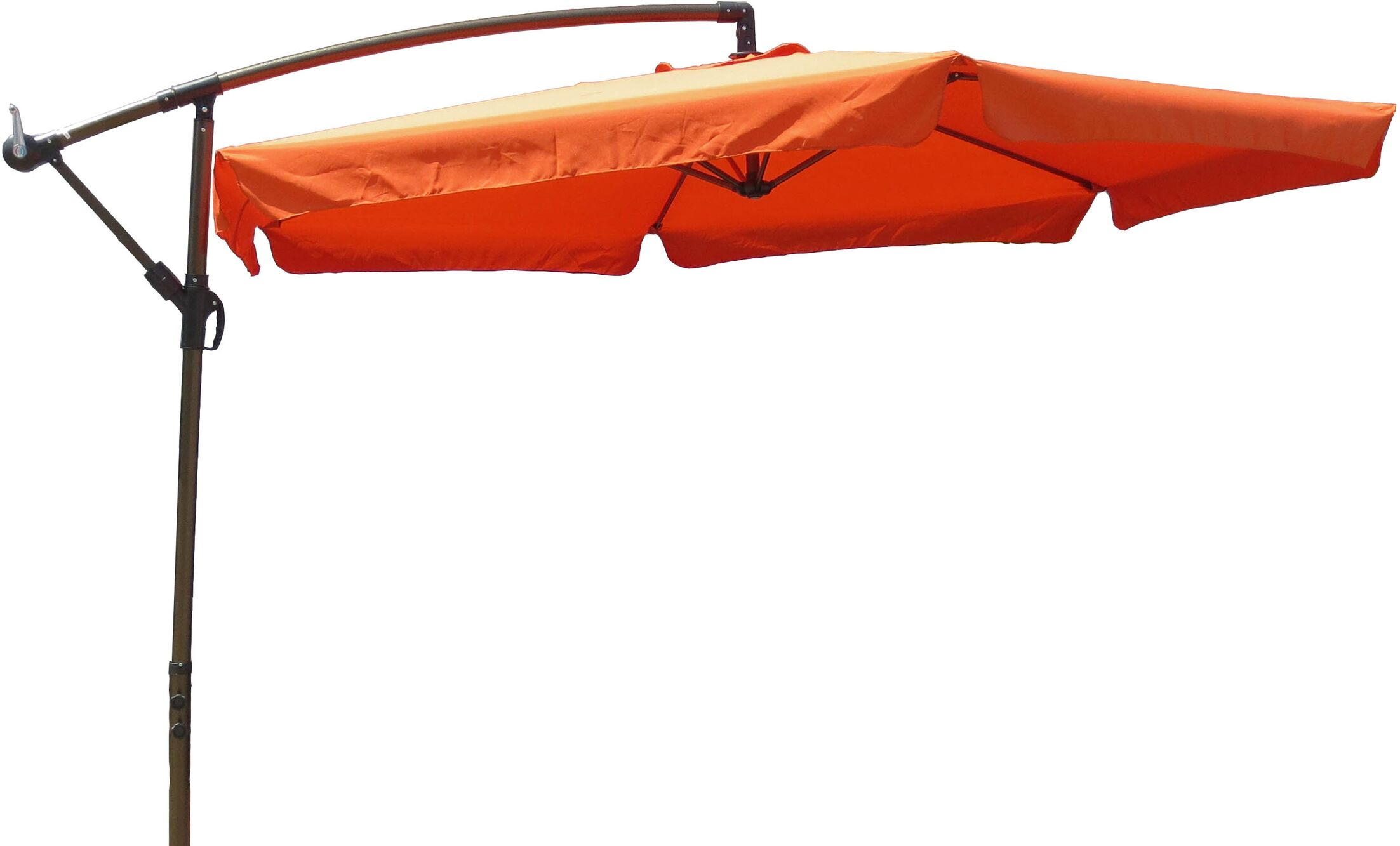10' Cantilever Umbrella Fabric: Terra Cotta