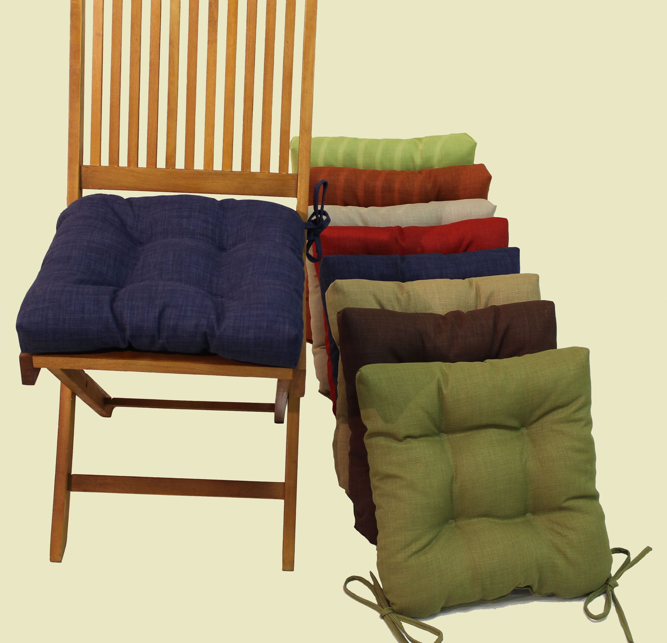 Indoor/Outdoor Adirondack Chair Cushion Fabric: Haliwell Caribbean