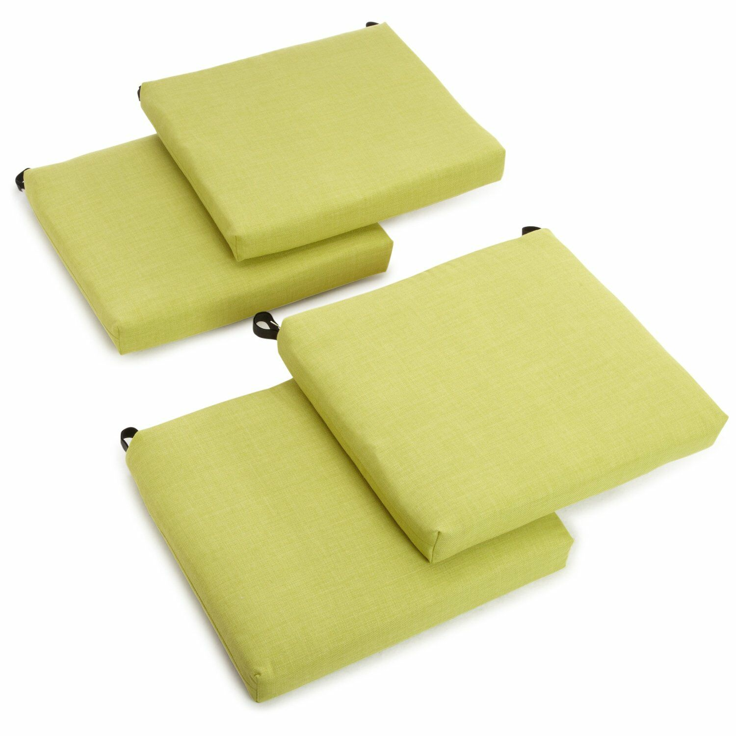 Indoor/Outdoor Adirondack Chair Cushion Fabric: Lime