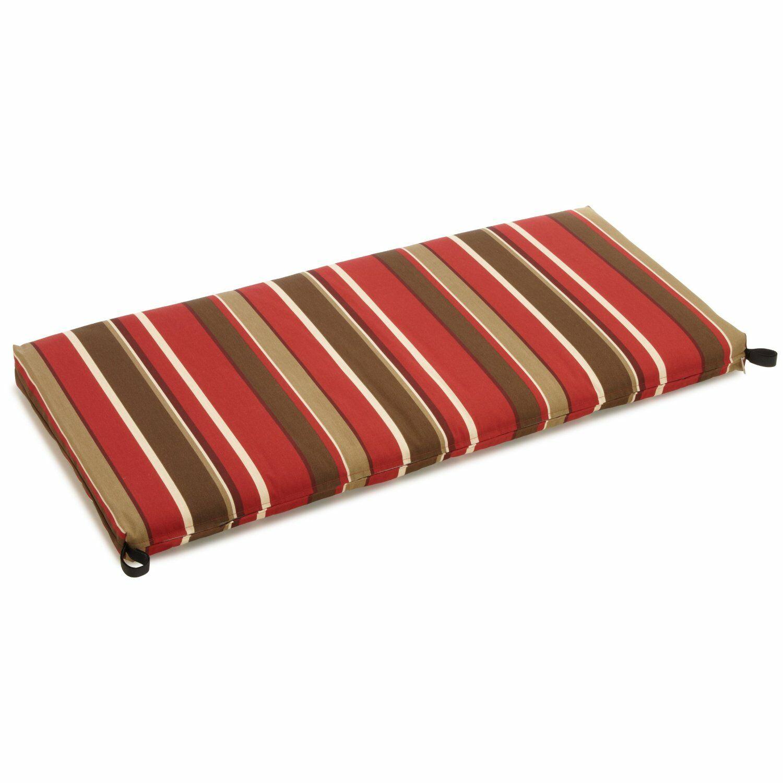 Monserrat Indoor/Outdoor Bench Cushion Size: 3.5