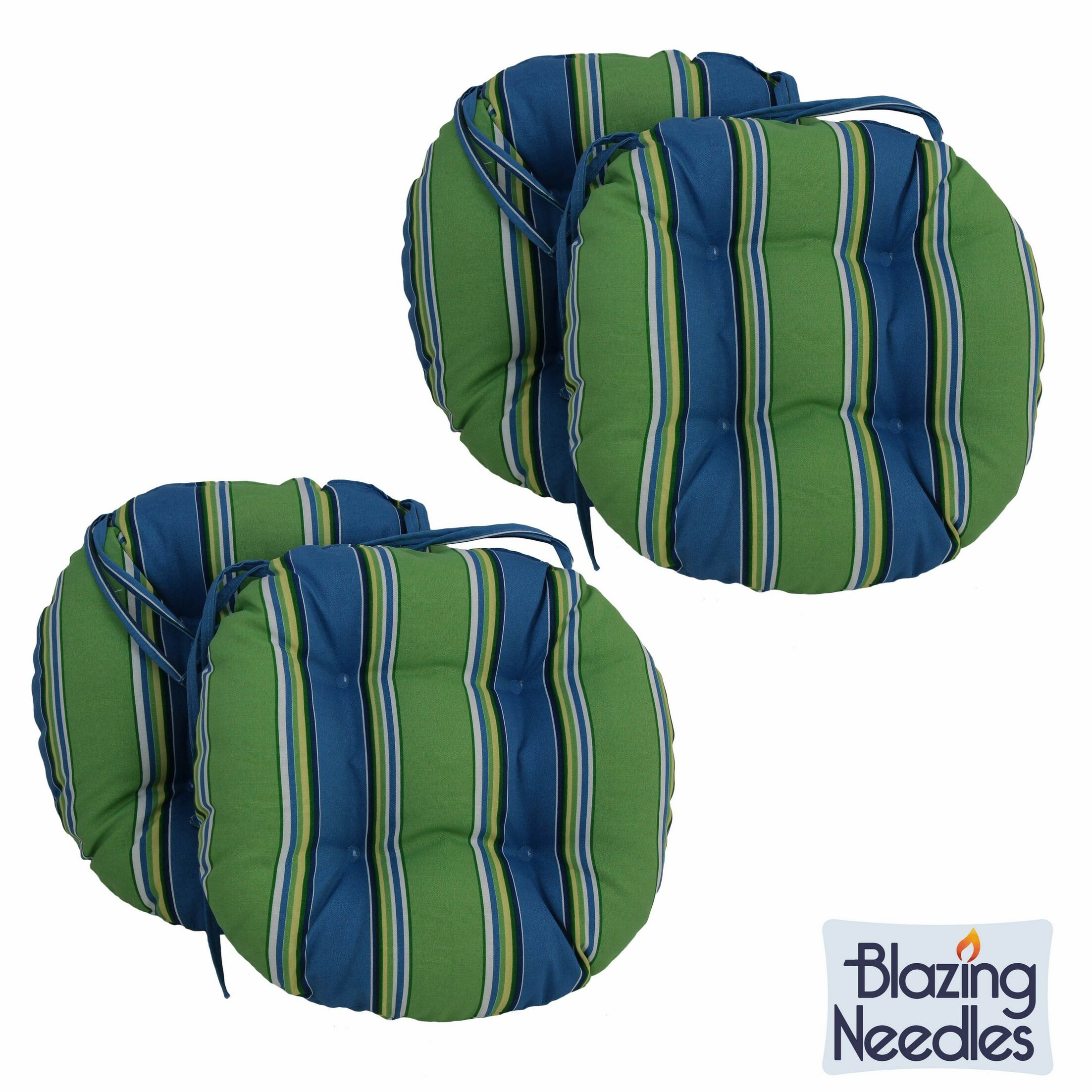 Indoor/Outdoor Patio Chair Cushion Color: Eastbay Onyx