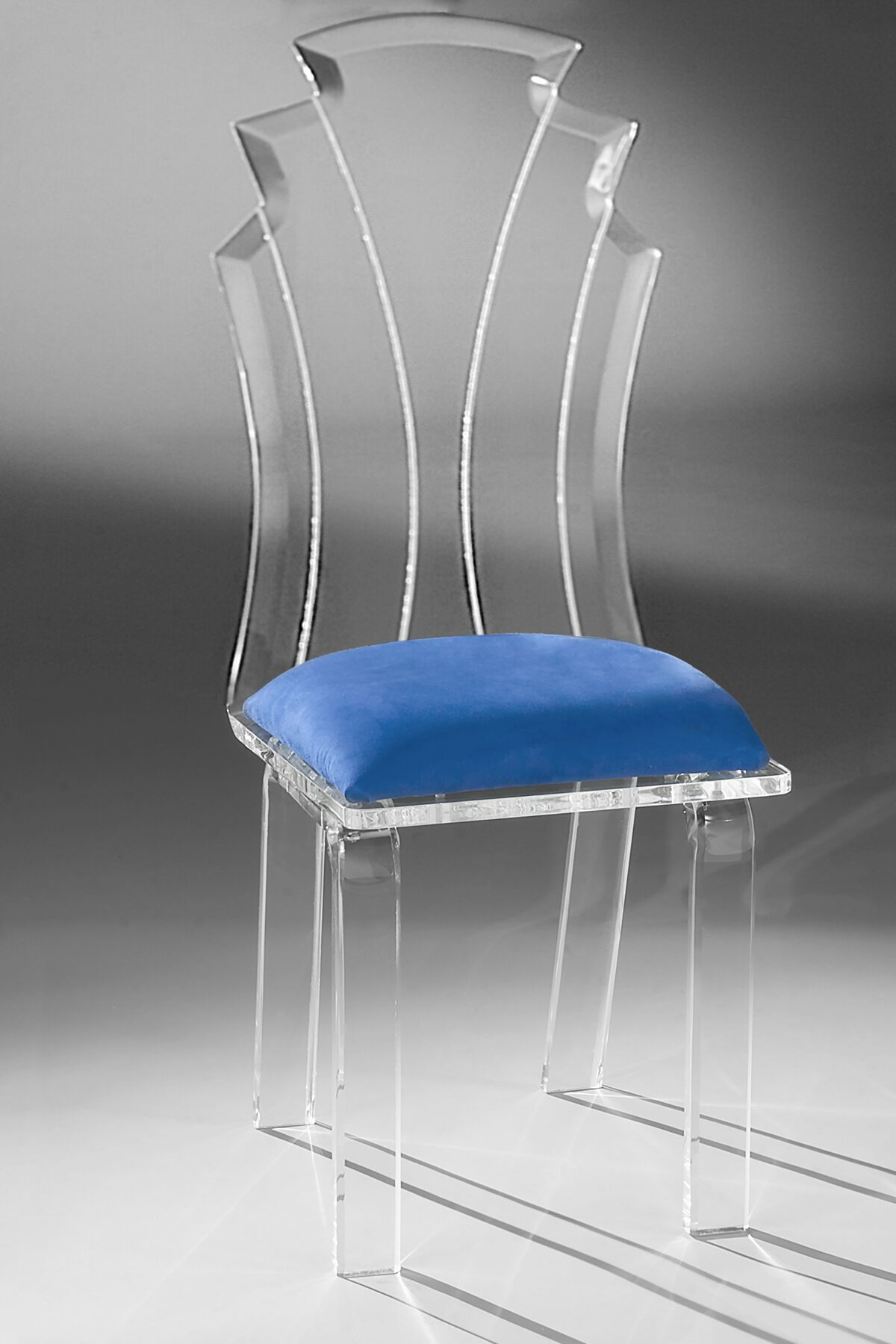 Tiffany Side Chair Upholstery: Violet