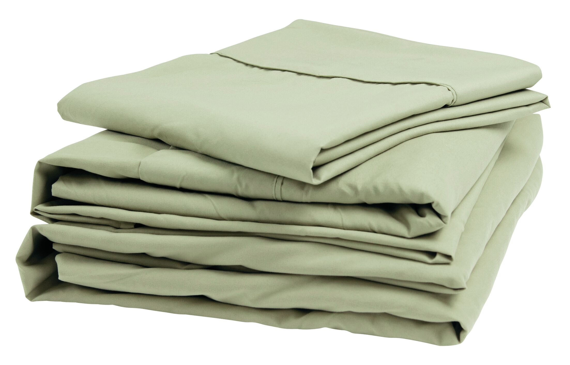 Polyester Sheet Set Color: Sage, Size: Narrow King