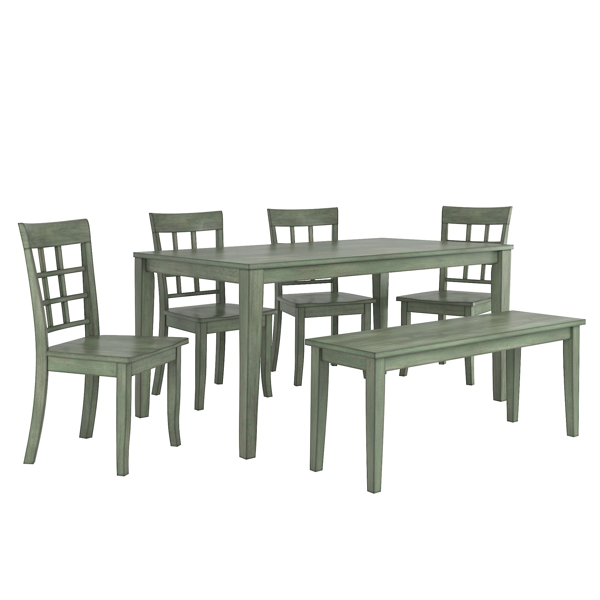 Dining Table Sets Alverson 6 Piece Dining Set