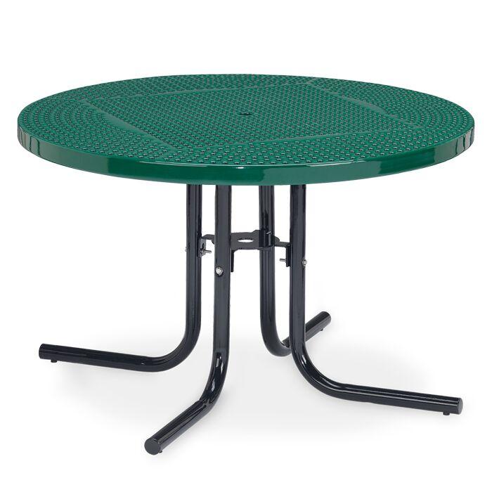 Veranda Dining Table Finish: Green