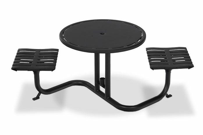Latitude Bistro Table Finish: Red