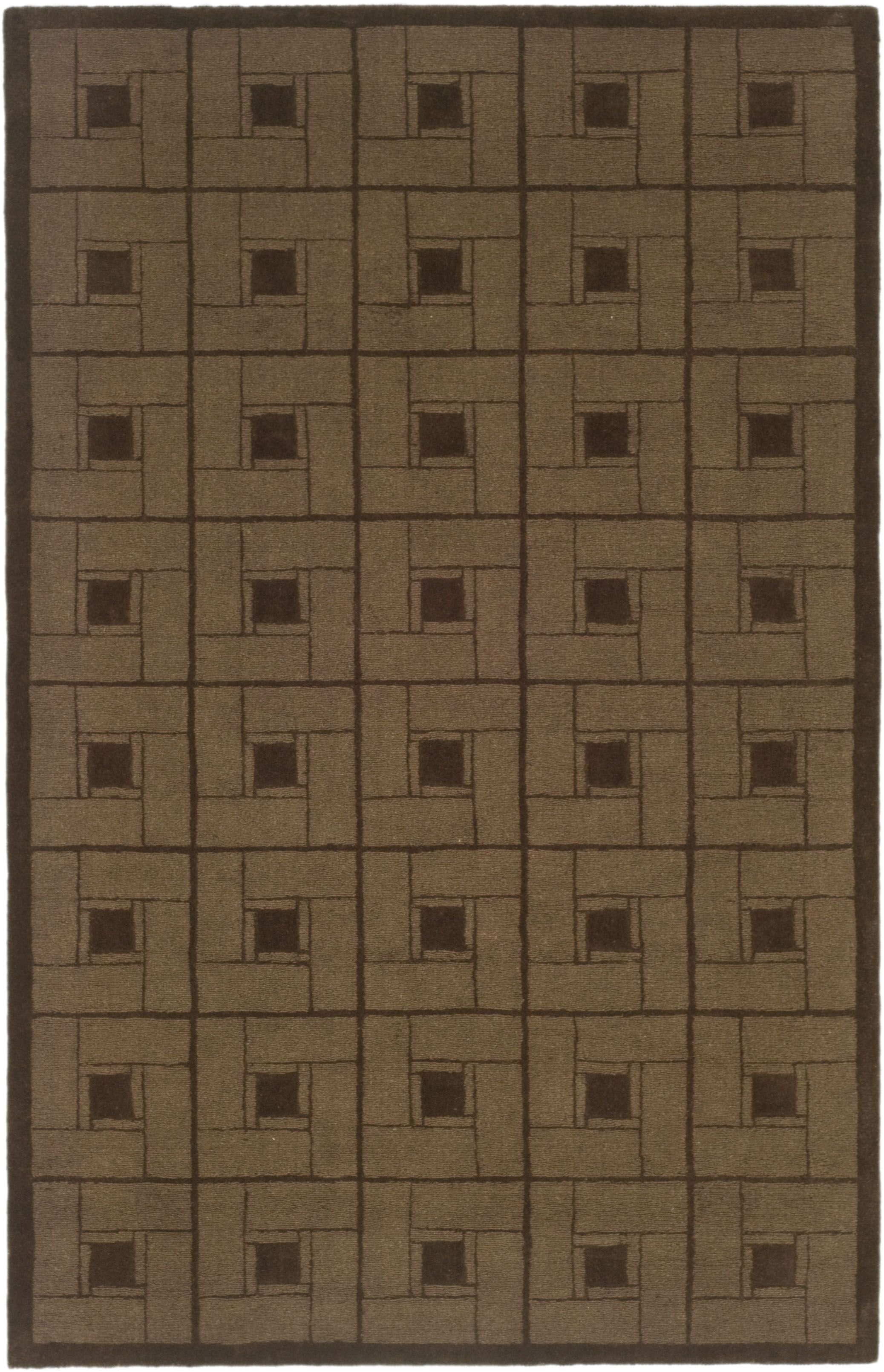 Martha Stewart Square Knot Bay Colt Area Rug Rug Size: Rectangle 5' x 8'