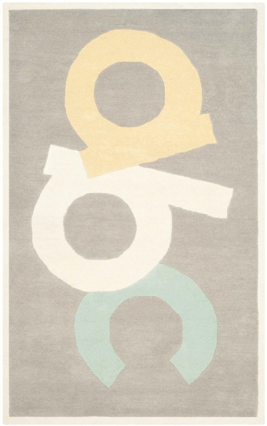 Martha Stewart Tufted / Hand Loomed Area Rug Rug Size: Rectangle 4' x 6'