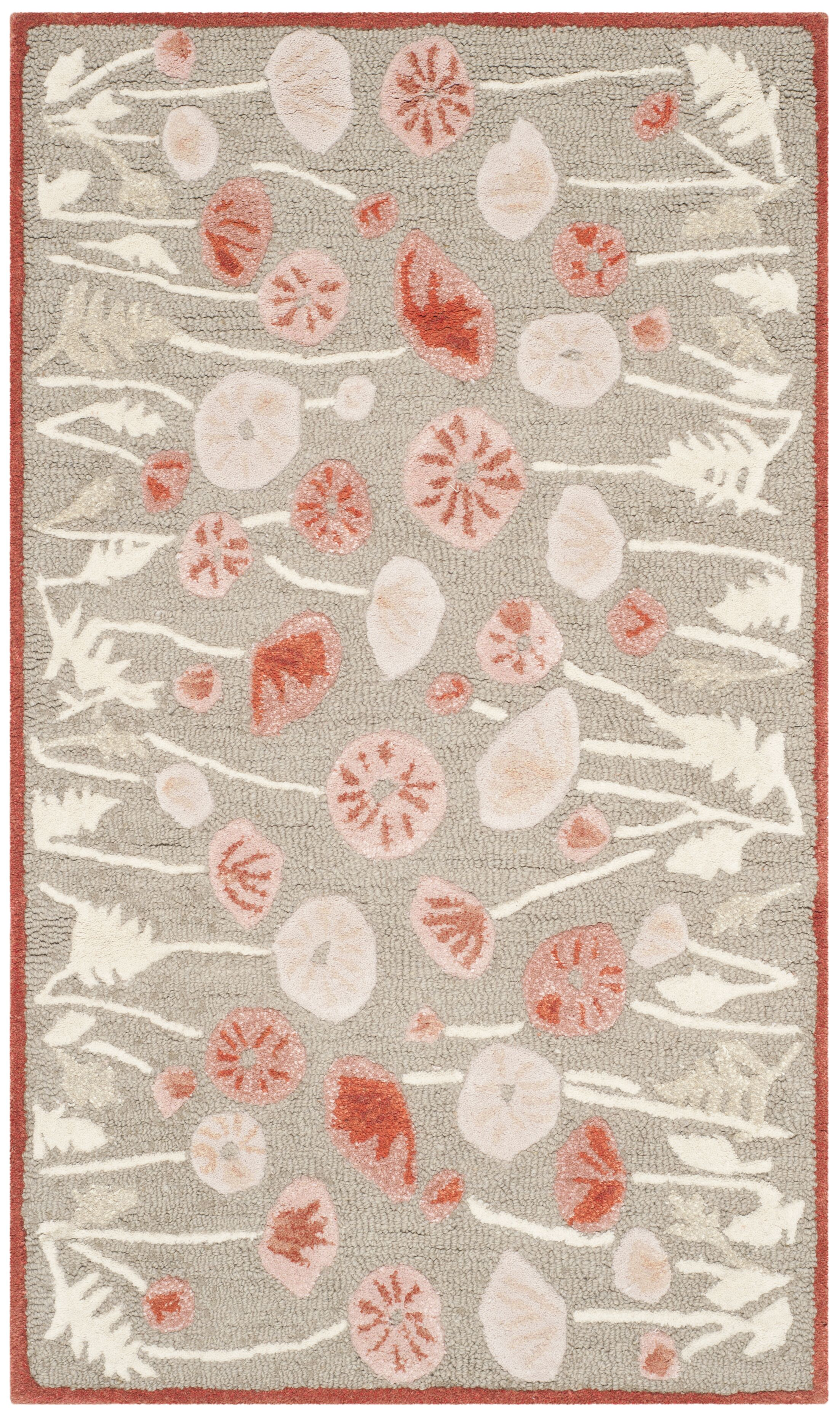 Martha Stewart Cayenne Red Area Rug Rug Size: Rectangle 9'6