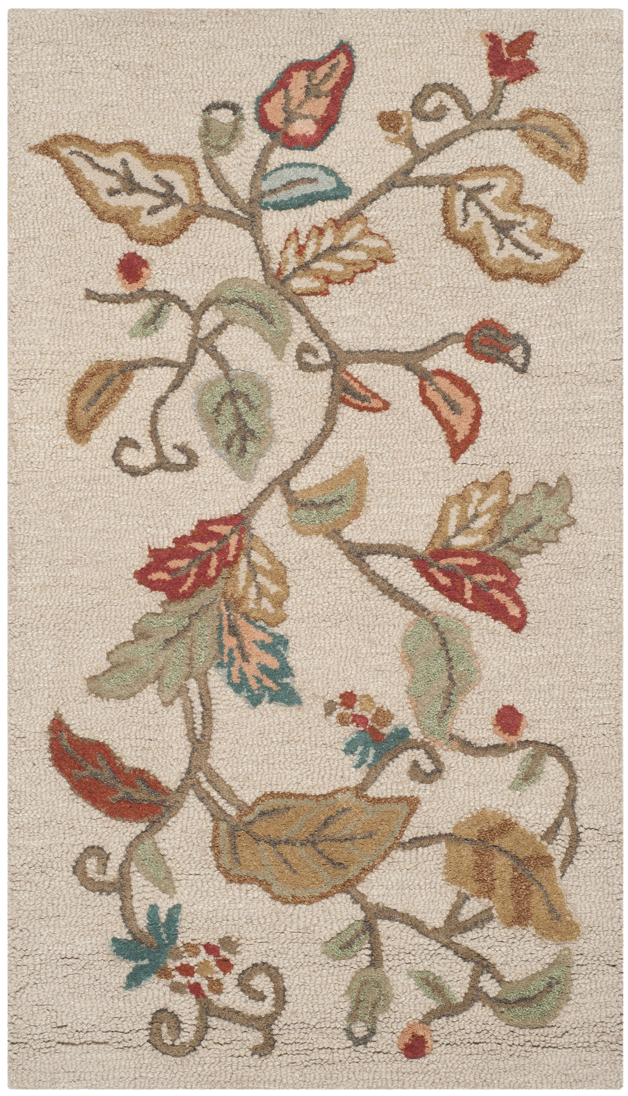 Martha Stewart Persimmon Red Area Rug Rug Size: Rectangle 9'6