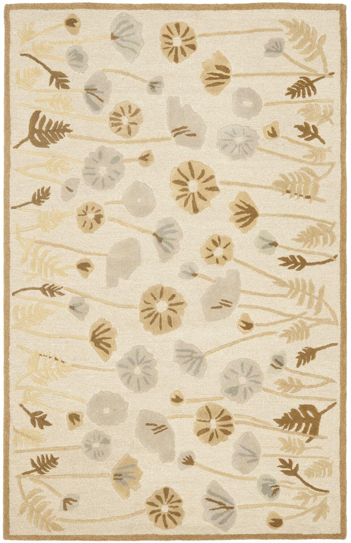 Martha Stewart Nutshell Brown Area Rug Rug Size: Rectangle 4' x 6'