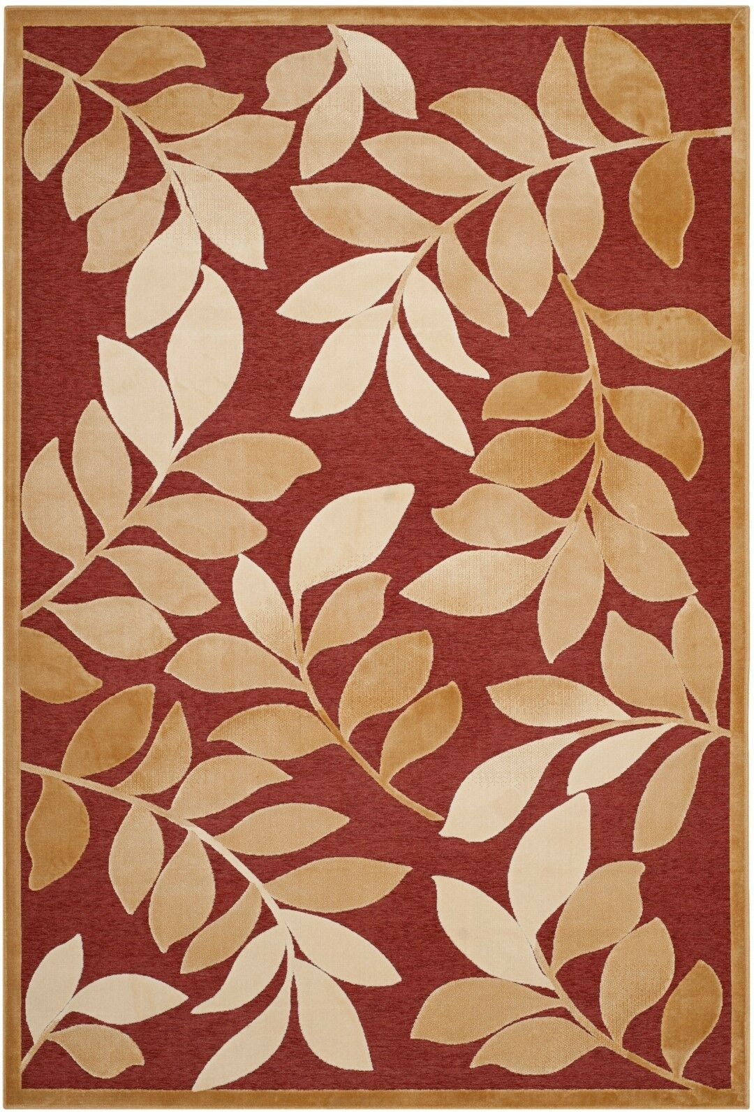 Martha Stewart Leafy Glade Area Rug Rug Size: Rectangle 5'3