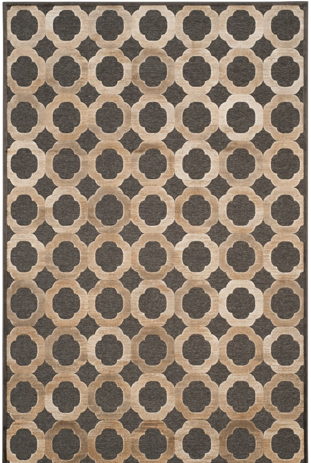 Martha Stewart Soft Anthracite / Anthracite Area Rug Rug Size: Rectangle 5'1