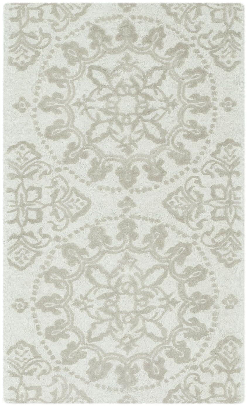 Martha Stewart Hand-Tufted Cotton Shale Area Rug Rug Size: Rectangle 8'6