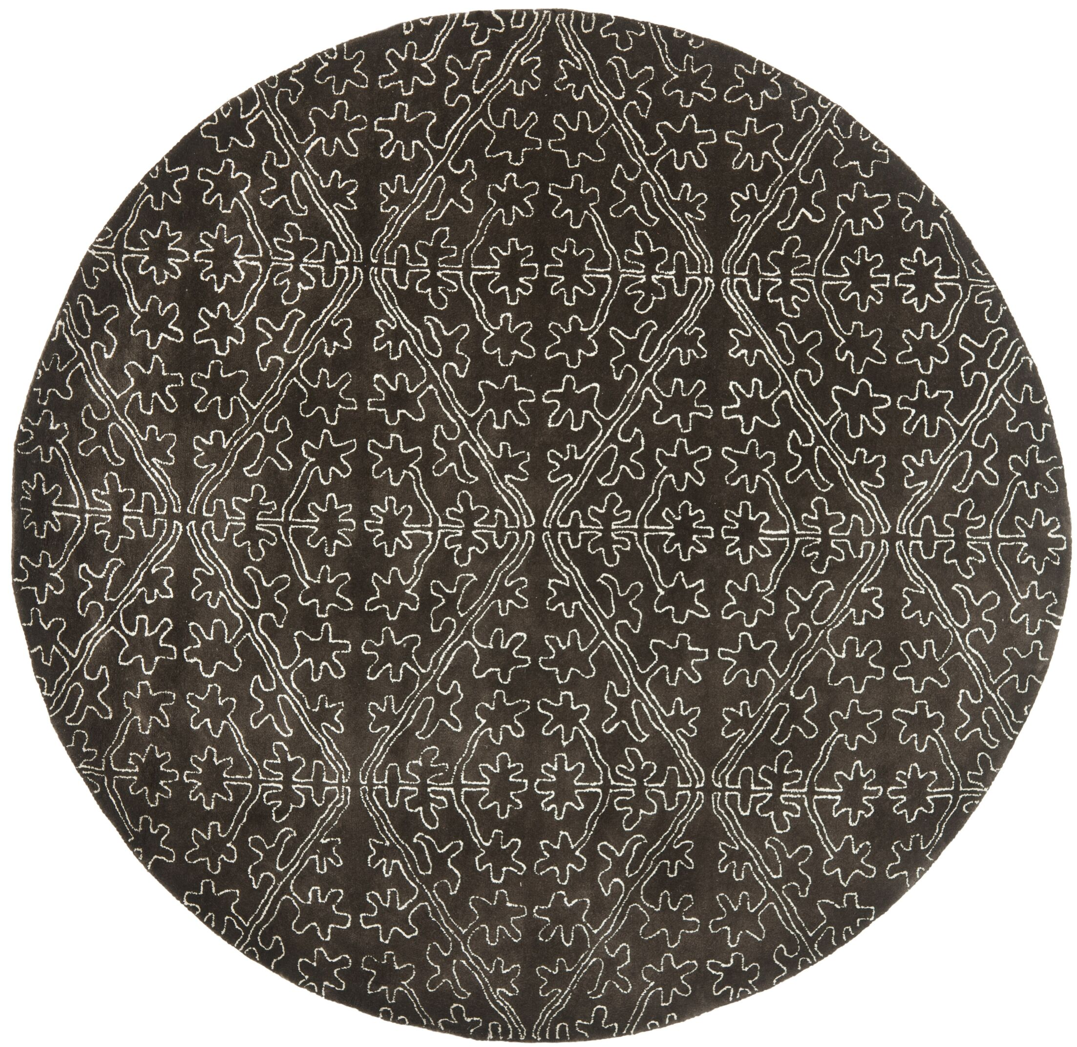 Martha Stewart Coffee / Brown Area Rug Rug Size: Rectangle 2'6
