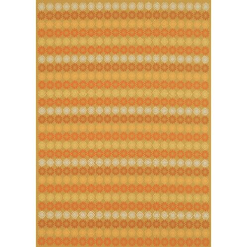 Sunstripe Cinnamon Rug Rug Size: Rectangle 9'1