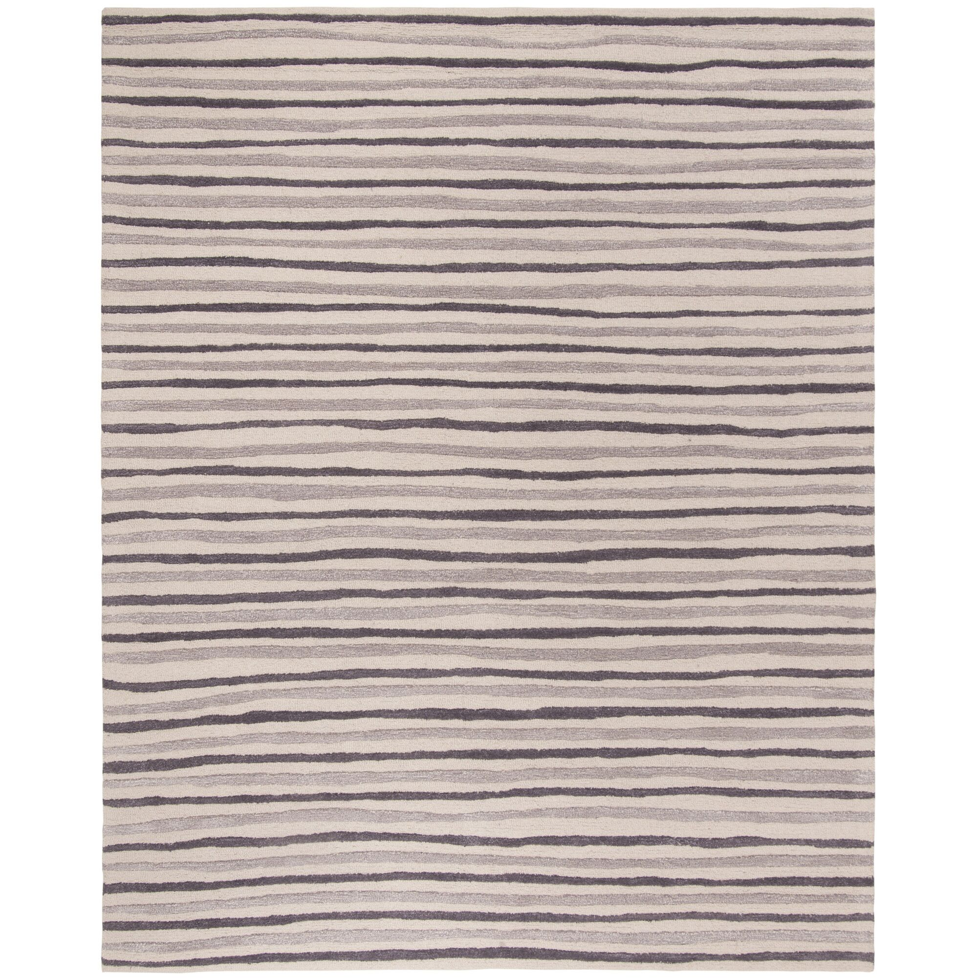 Martha Stewart Tilled Soil Brown Area Rug Rug Size: Rectangle 8' x 10'